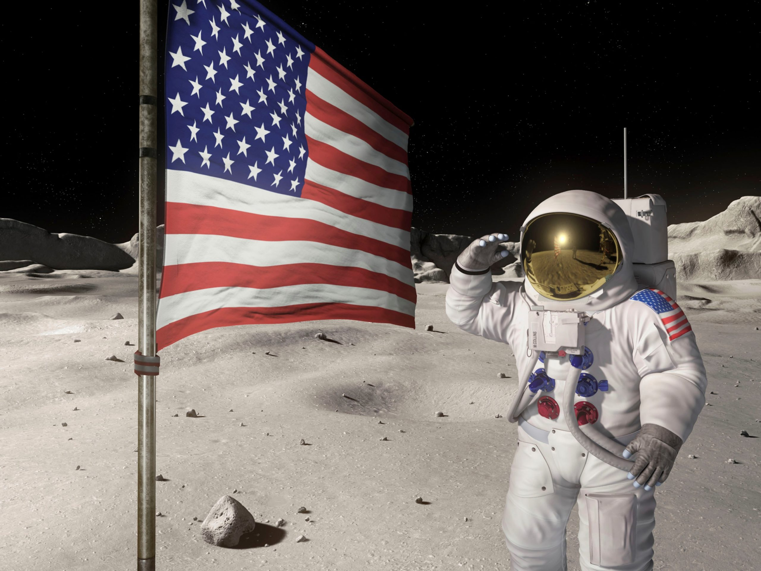 Что не так с теорией «американцы на Луне не были»
