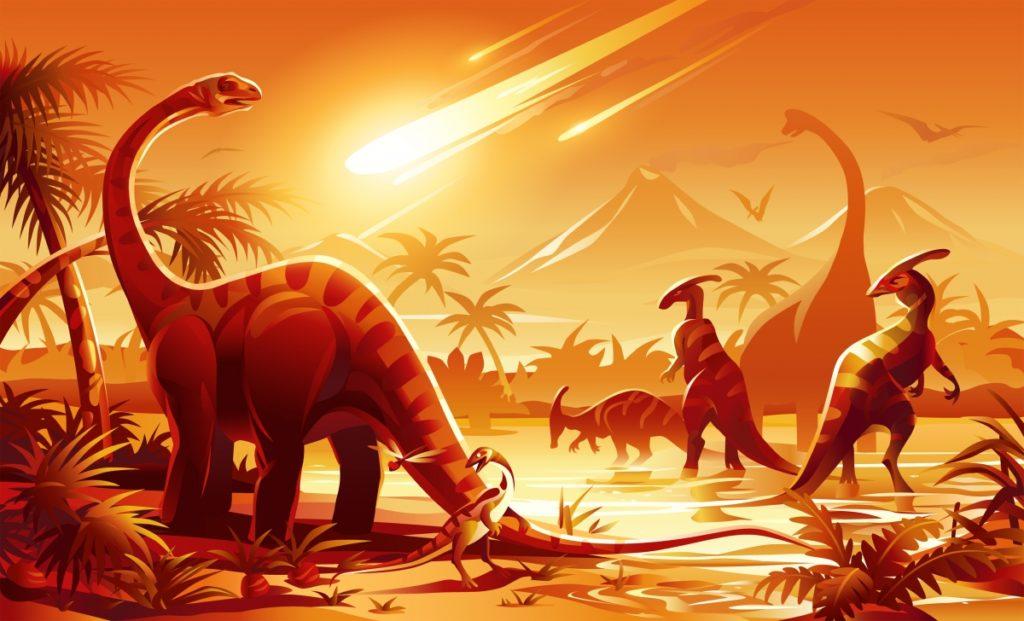 Вымирание динозавров: Эпидемия или накопление неблагоприятных мутаций