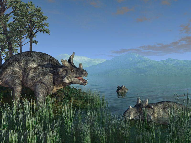 Пермский период: Холодный мир звероящеров