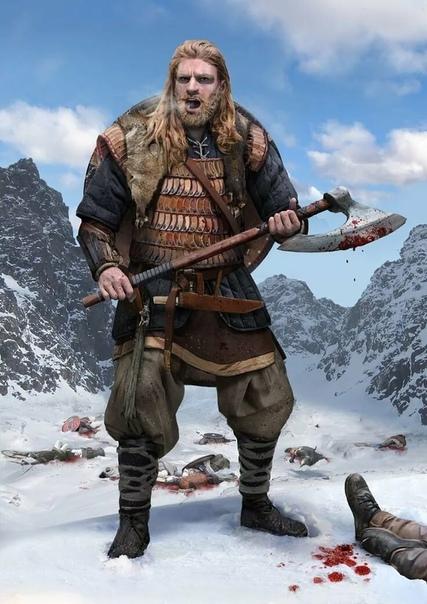 Мифы: Викинг и топор