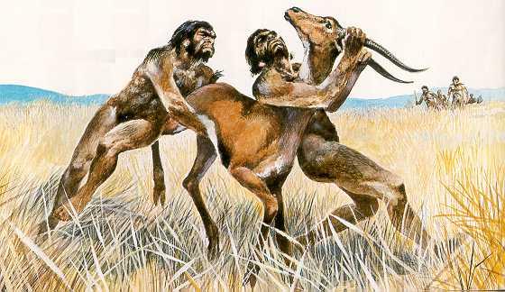 Антропогенез 1-2 миллиона лет назад: Древние расы