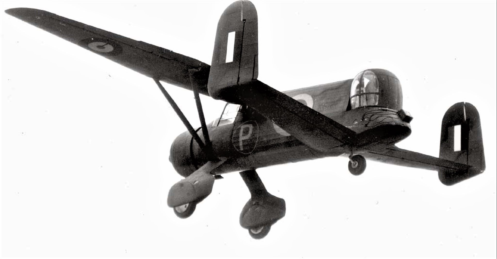 Странные самолёты: Westland P.12 Wendover