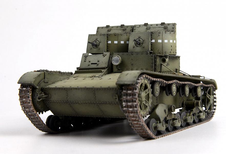 Двухбашенный танк. Зачем вторая башня?