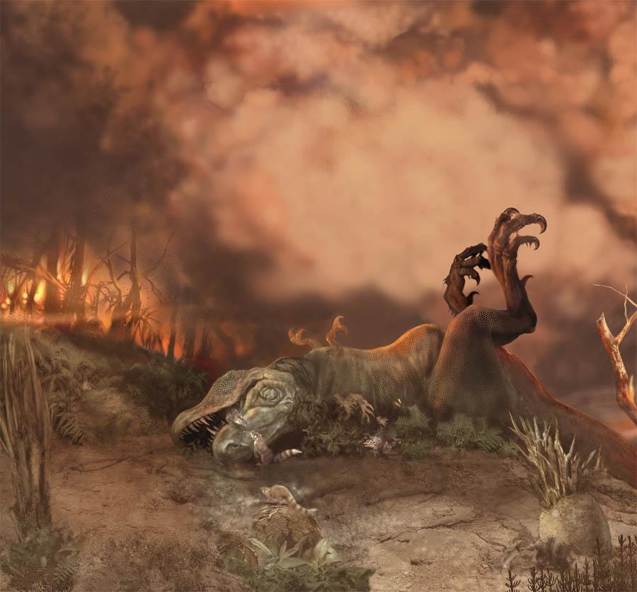 Вымирание динозавров: Изменение климата и состава атмосферы