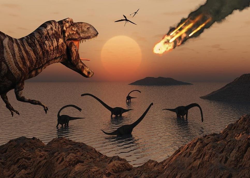 """Вымирание динозавров: Взрыв сверхновой и другие """"астрономические"""" причины"""