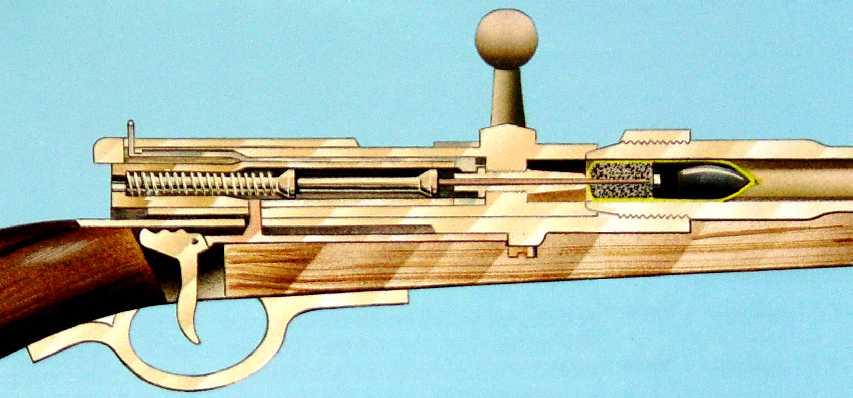 Оружие в духе стимпанка: игольчатые винтовки