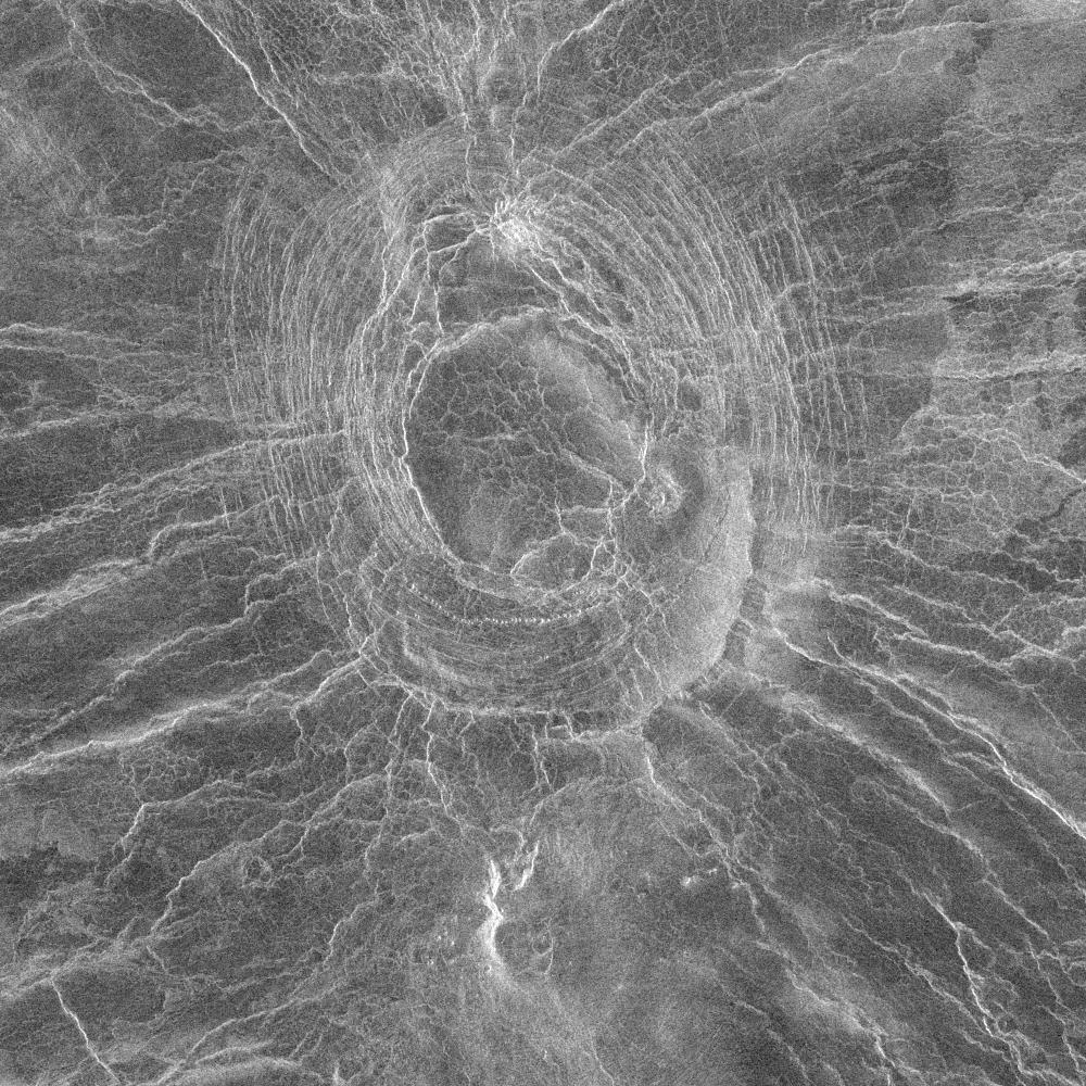 Венера: Мир лавовых русел и гигантских арахноидов