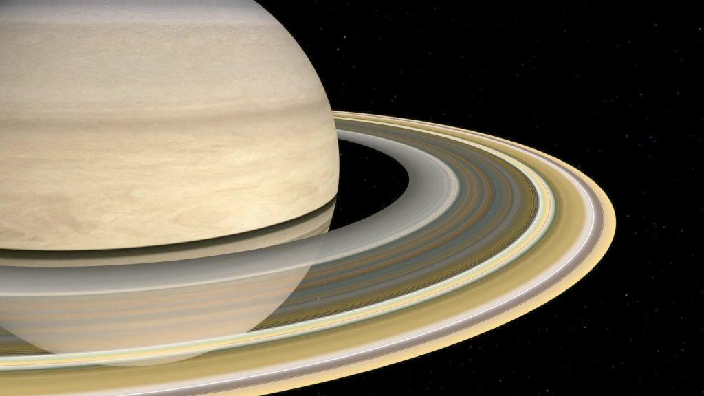 Сатурн: Танцующие луны