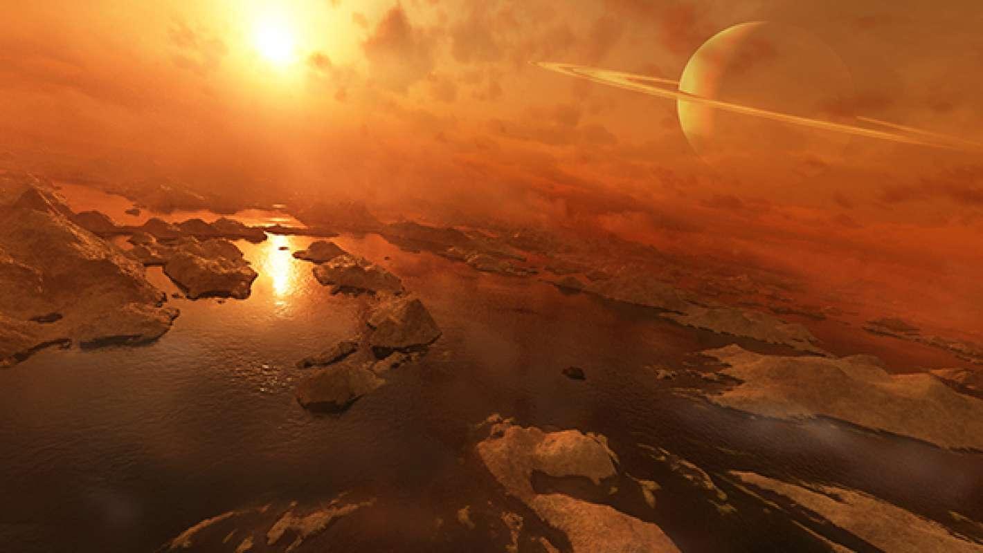 Титан: Возможна ли жизнь на в жидком  этане