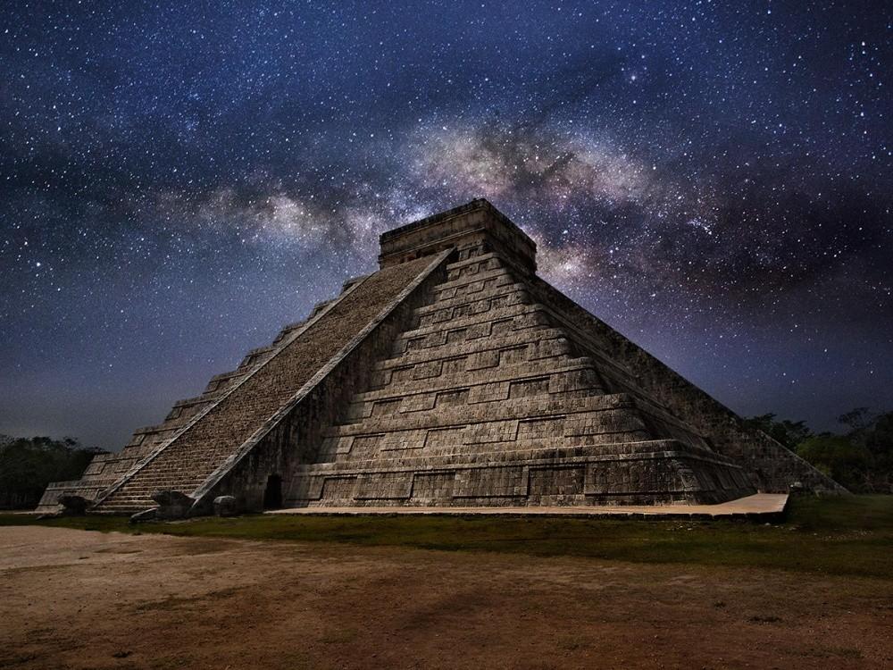 Чем мексиканские пирамиды отличаются от египетских