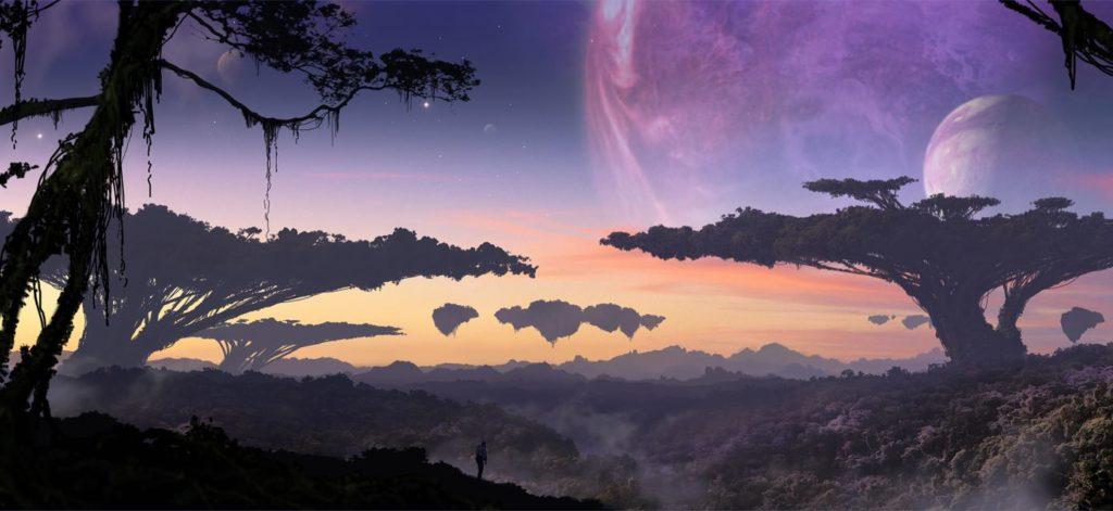 Планеты с низкой гравитацией, и жизнь на них