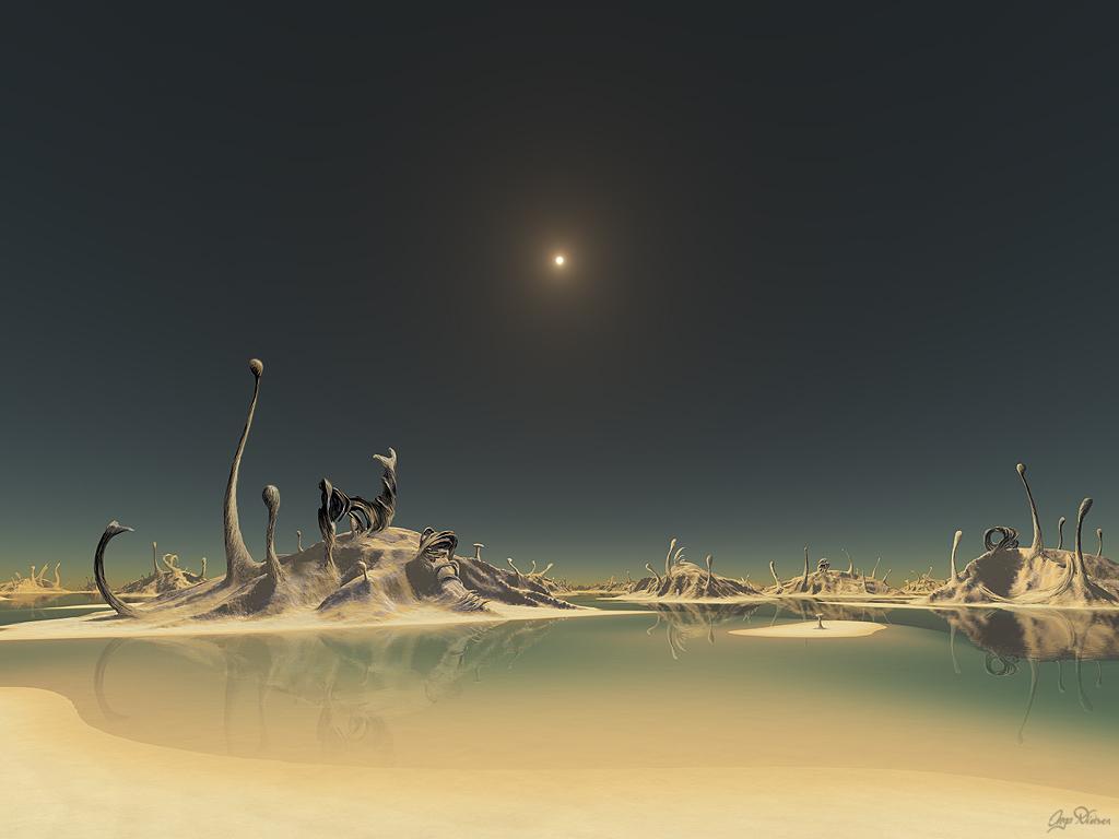 """Внеземная жизнь: """"Тяжёлые"""" планеты"""