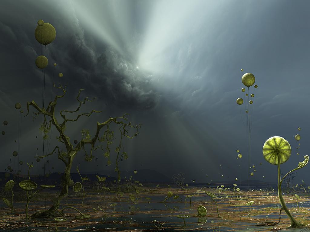 Планеты со сверхплотной атмосферой, и жизнь на них