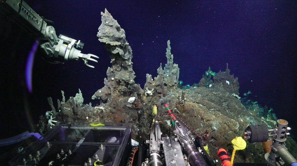 Мировой океан: Тайны морского дна