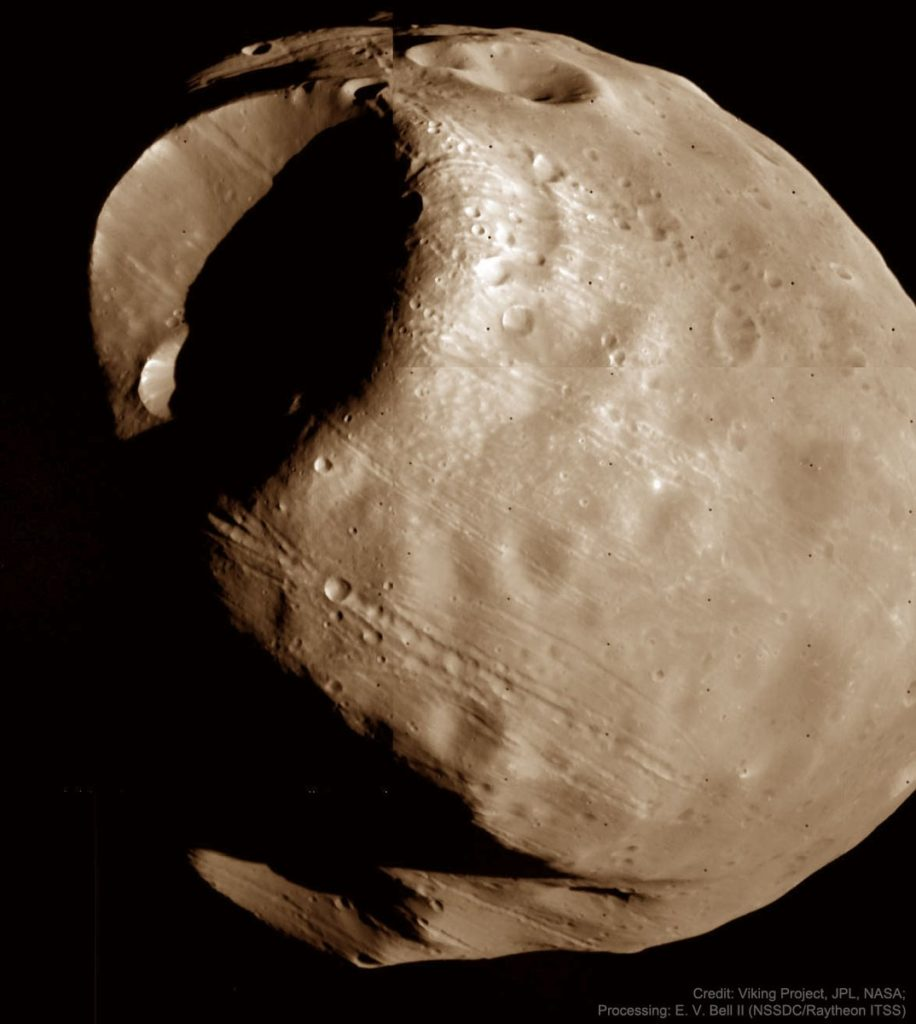 Фобос: Пустоты Ужаса на орбите Марса