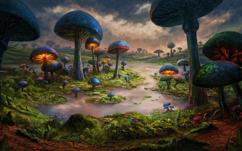 Древние планеты, и жизнь на них