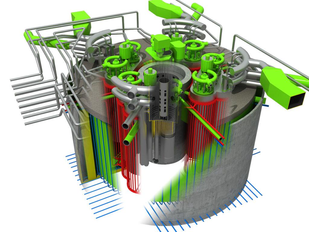 Реактор БРЕСТ. Зачем нужен свинцовый теплоноситель