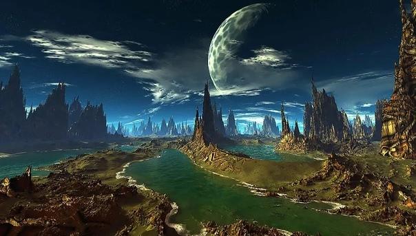 Планеты с гигантскими лунами, и особенности жизни на них