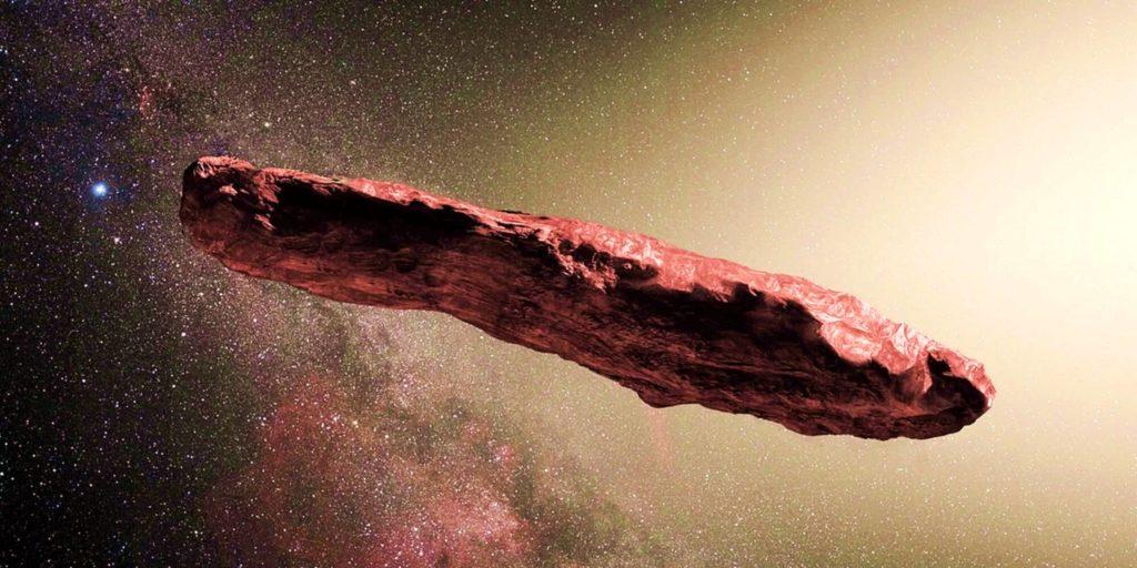 Чем объясняется странная форма астероида Оумумуа