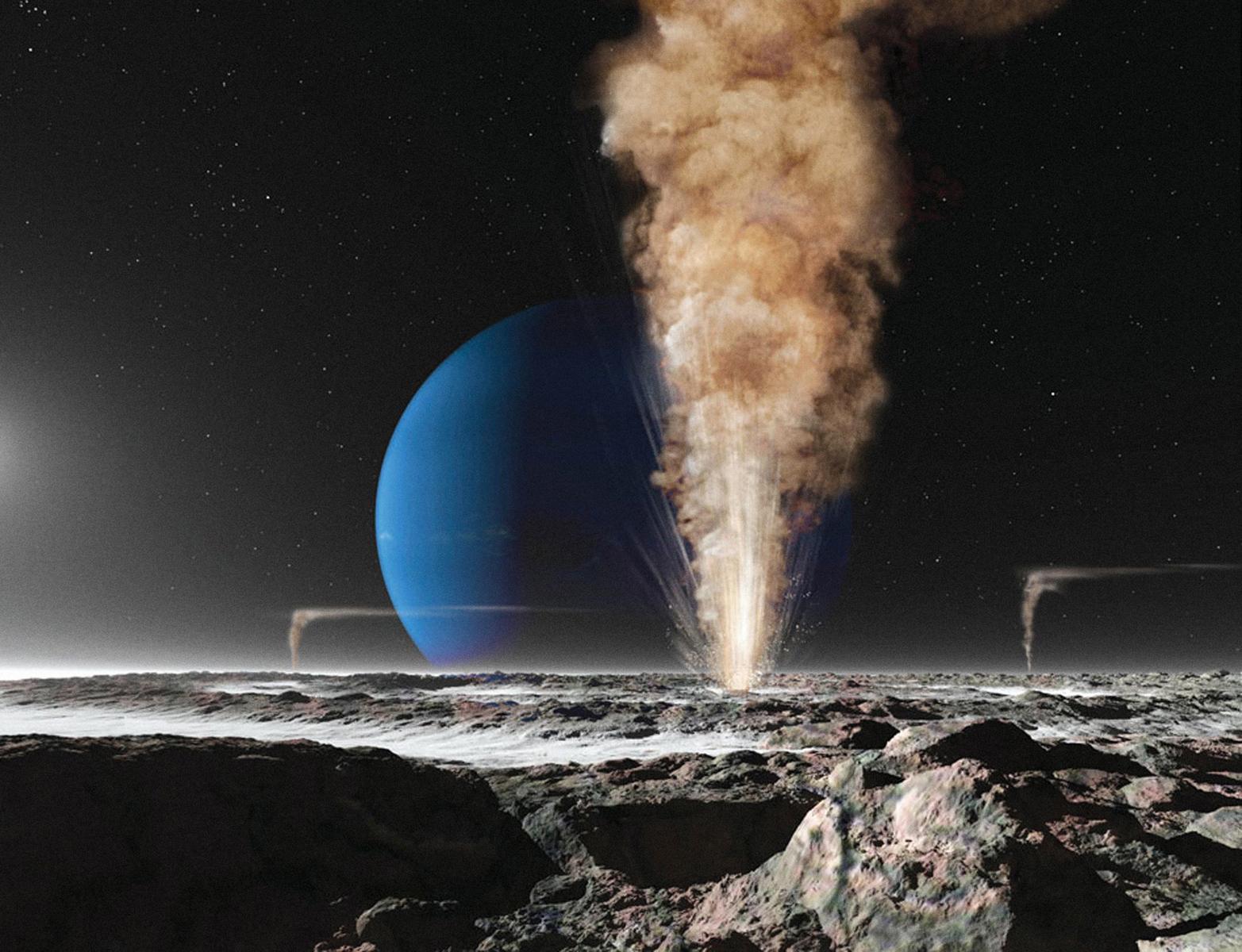 Планетоид Тритон: Русский след