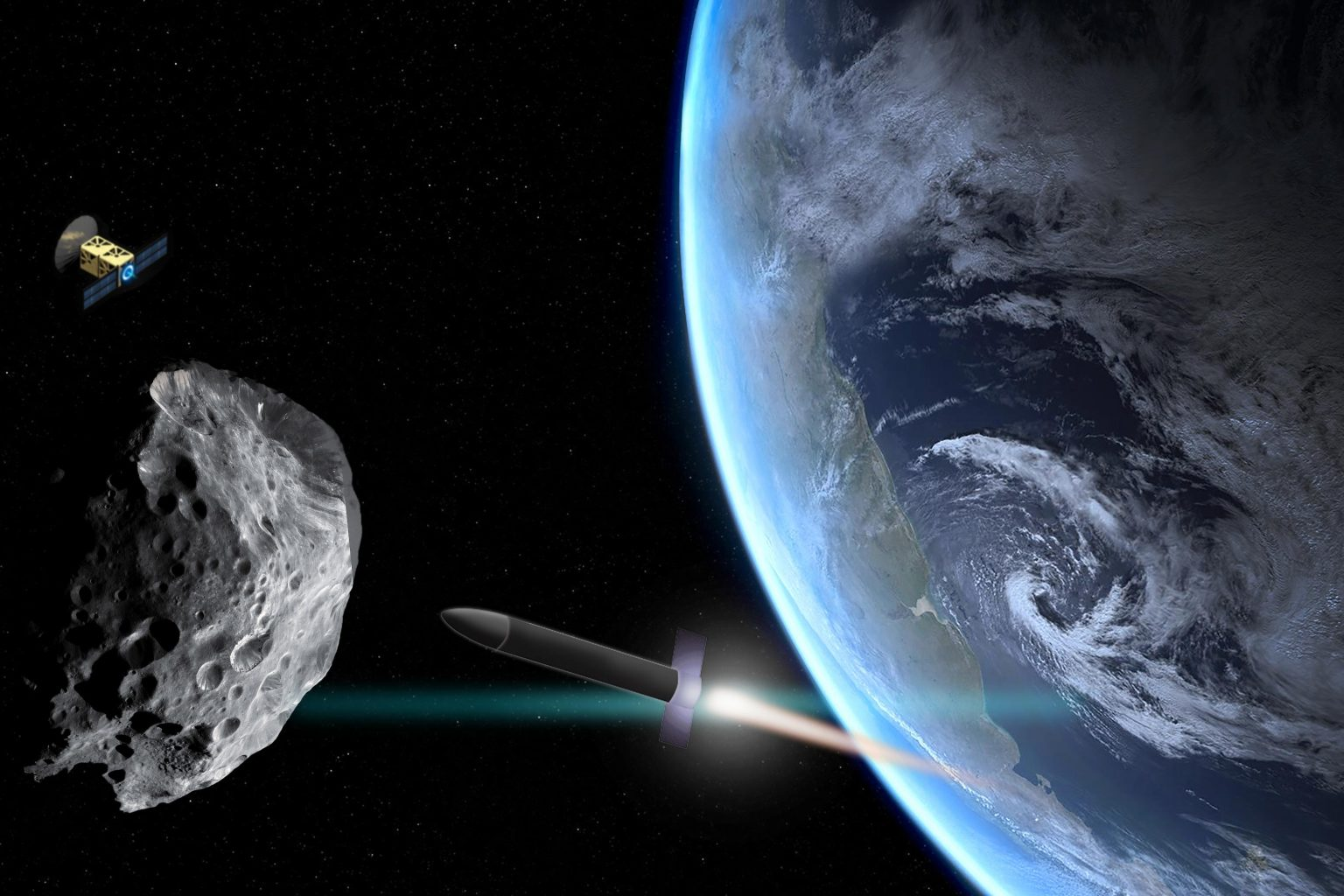 Можно ли привести астероид на орбиту Земли?