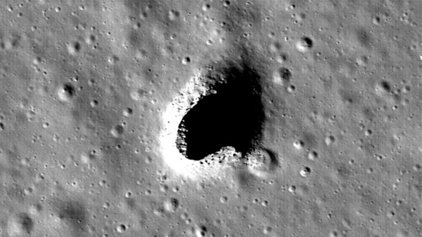 Луна: Тоннели под  кратерами — правда или вымысел?