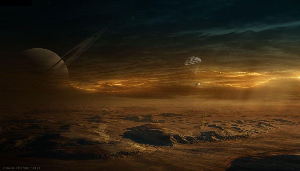 Титан: Почему это спутник обладает плотной атмосферой
