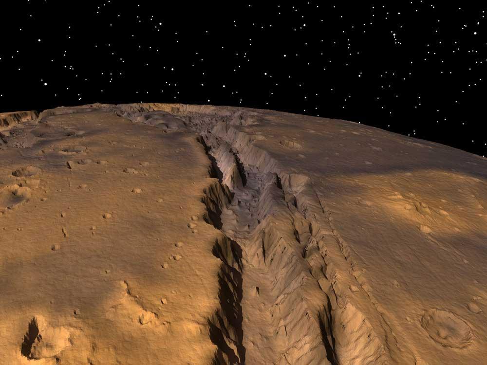 Каньон Маринер и другие великие пропасти Солнечной системы