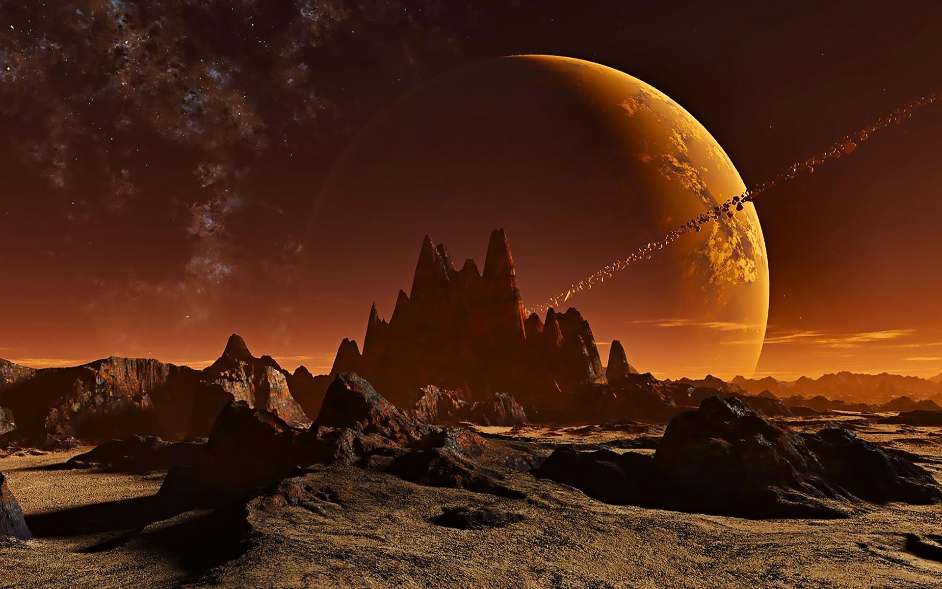 «Голубая луна»: Возможна ли жизнь на спутниках планет?