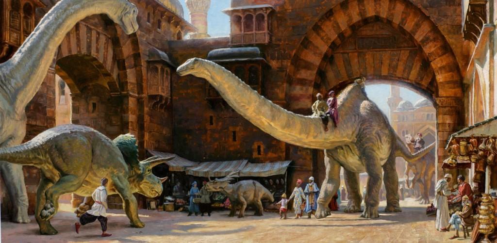 Если бы динозавры не вымерли: Гондванский мир