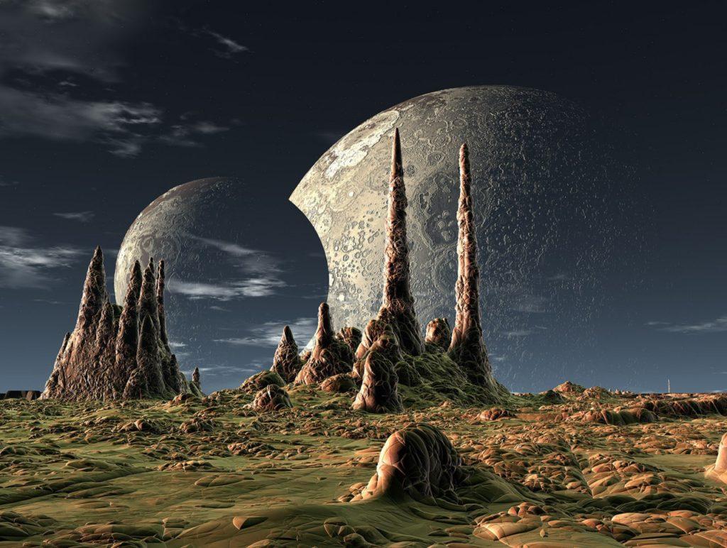 Экзопланеты: Сколько лун может иметь обитаемый мир