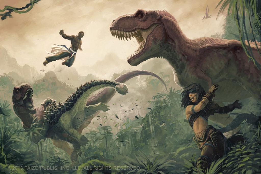 Если бы динозавры не вымерли: Тероподы
