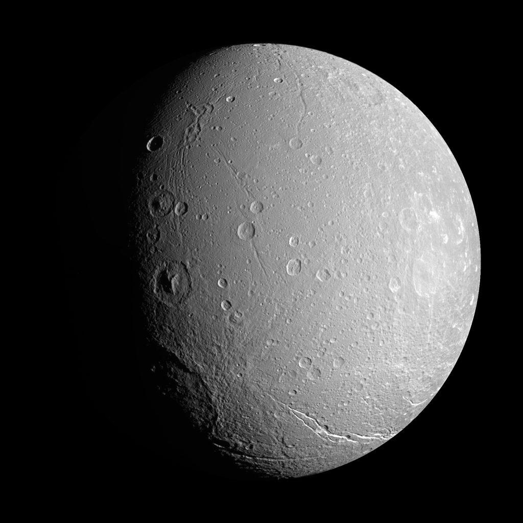 Тефия и Диона: Спутники со своими спутниками