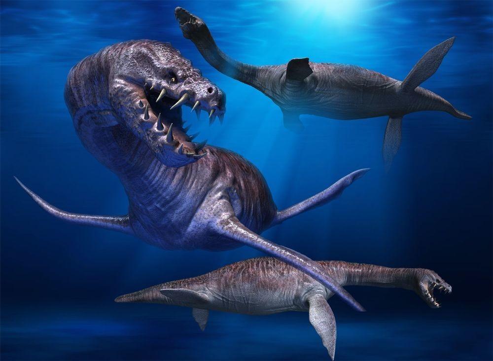 Если бы динозавры не вымерли: Морские ящеры