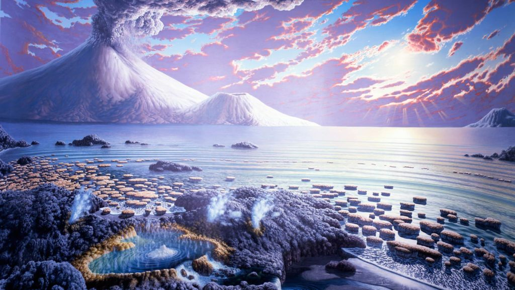 Мезопротерозой: Молодая Земля 1.6-1 миллиард лет назад