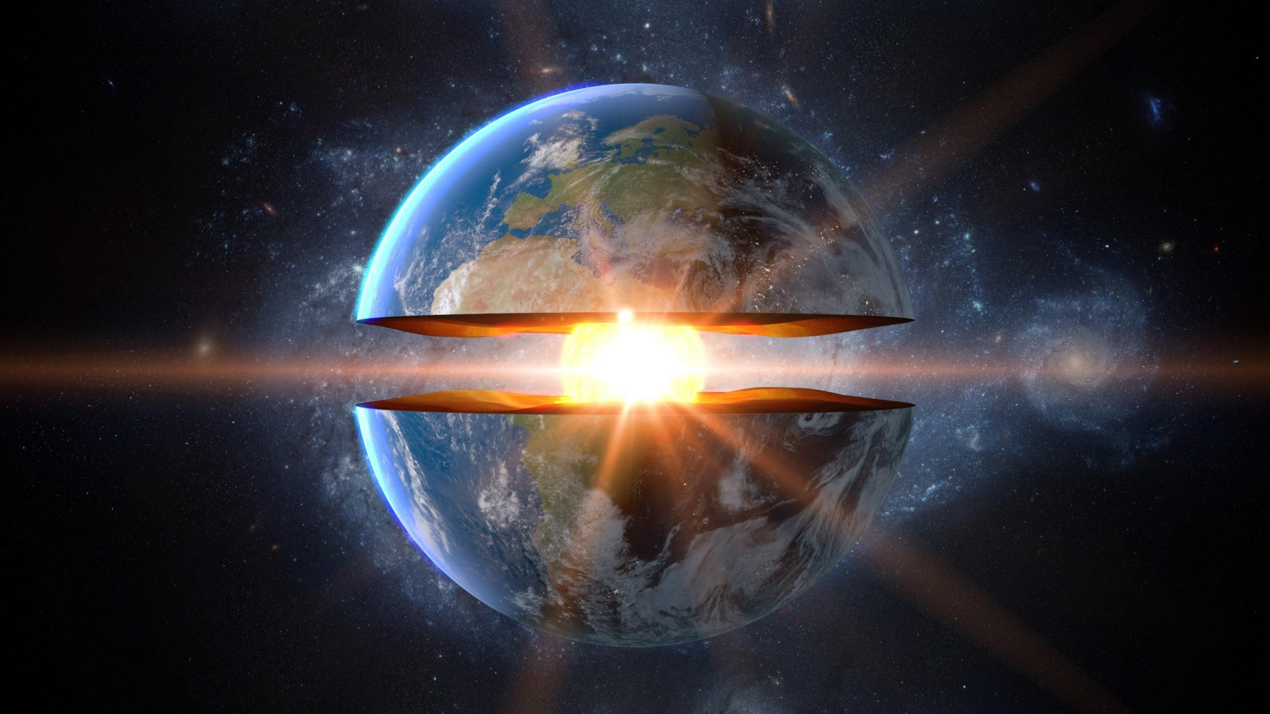 К центру Земли: Внешнее ядро из жидкого железа