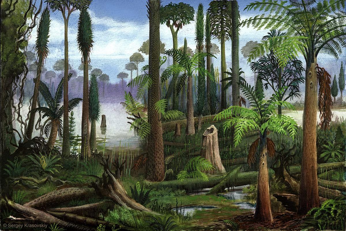 Какой геологический период был временем расцвета биосферы?