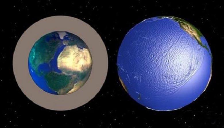 Расширяющаяся Земля: В прошлом земной шар был меньше?