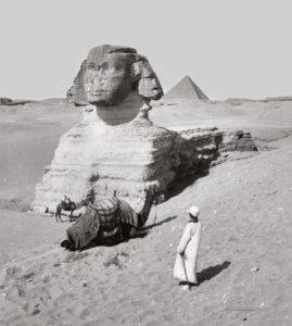 Сфинкс. Гиза, Египет. 1900-1920..jpg