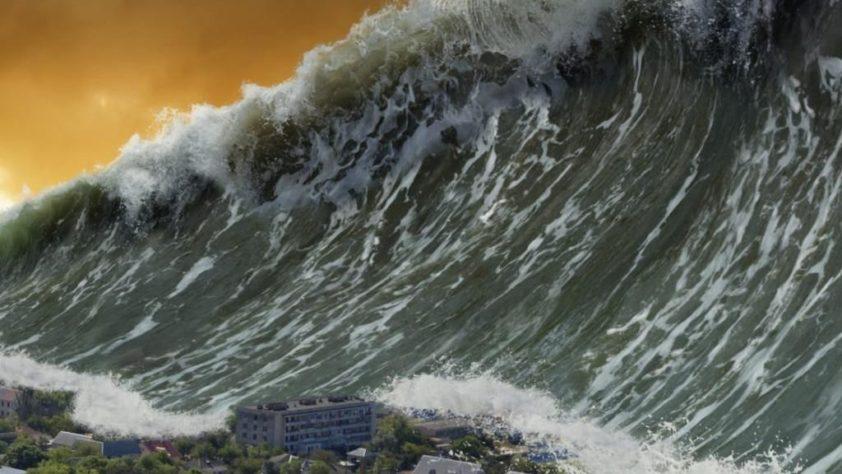 Величайшее цунами в истории планеты