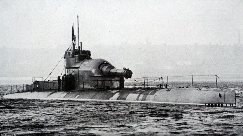 Субмарины с паровым двигателем: Несчастливая серия «К»